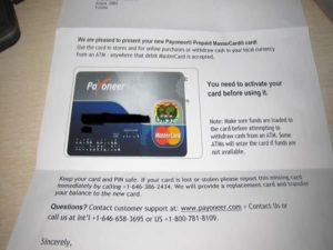 payoneer amazon